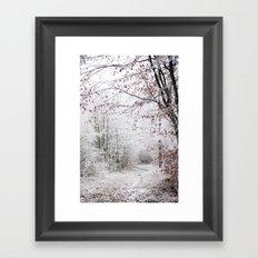 Janvier Framed Art Print