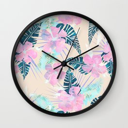 Lani Kai Tropical {F} Wall Clock