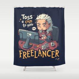 Freelancer of Blaviken Shower Curtain