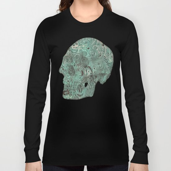 Histological section of my inner world (#4) Long Sleeve T-shirt