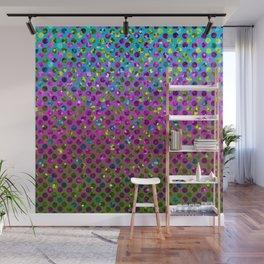 Polka Dot Sparkley Jewels G377 Wall Mural
