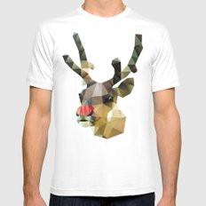 Poor Rudolph - Christmas MEDIUM White Mens Fitted Tee