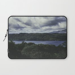 Moody Lake Windermere - Landscape and Nature Photography Laptop Sleeve