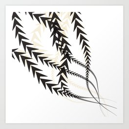 Abstract Arrow Art Print