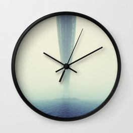 The Vanishing Point Wall Clock