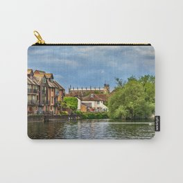 Eton College Chapel From The Thames Carry-All Pouch