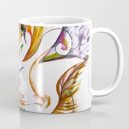 Merging Face Coffee Mug