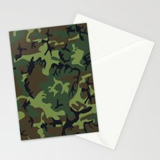 Army Camouflage Stationery Cards