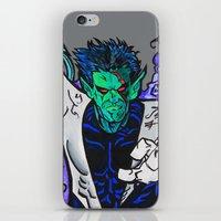nightcrawler iPhone & iPod Skins featuring Nightcrawler by Hugo Maldonado
