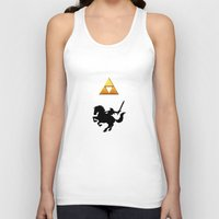 the legend of zelda Tank Tops featuring Legend Of Zelda by Kesen