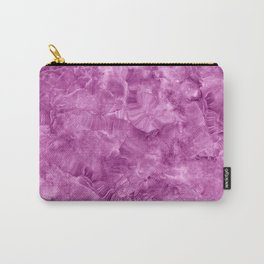Purple onyx marble Carry-All Pouch
