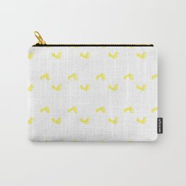 Walk On - Yellow Little Feet Pattern Carry-All Pouch