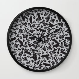 LEMURS! Wall Clock