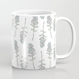 Eruca sativa (arugula) leaf Coffee Mug