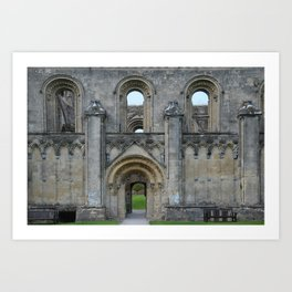 Glastonbury Abbey 1 Art Print