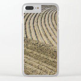 TRACES ON THE SAND Clear iPhone Case
