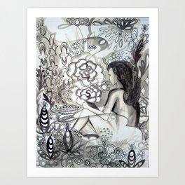 ponderland2 Art Print