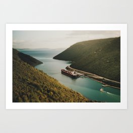 Container Ship Art Print