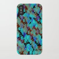 bianca green iPhone & iPod Cases featuring Bianca by Gonpart