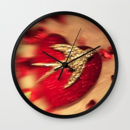 On the wings of Love... Wall Clock