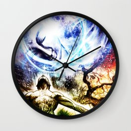 I am a Son of Earth and Starry Heaven Wall Clock