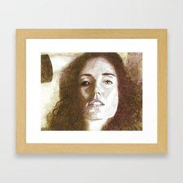Lucy Blackeye Framed Art Print