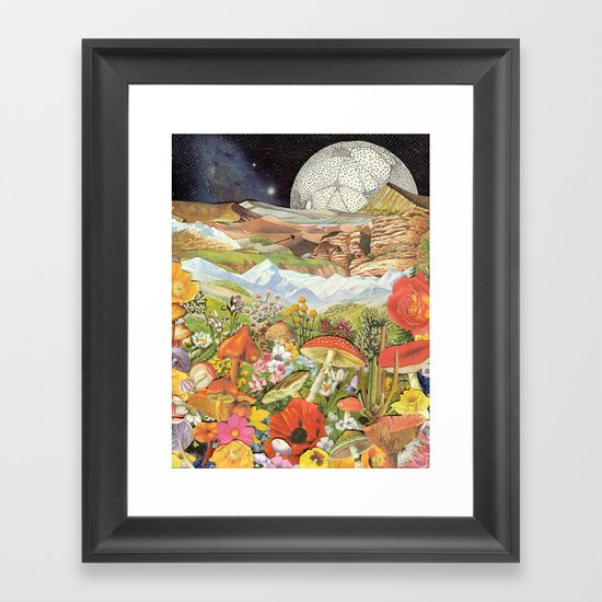 Shrooms Framed Art Print