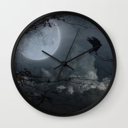 There's A Moon Out Tonight Wall Clock