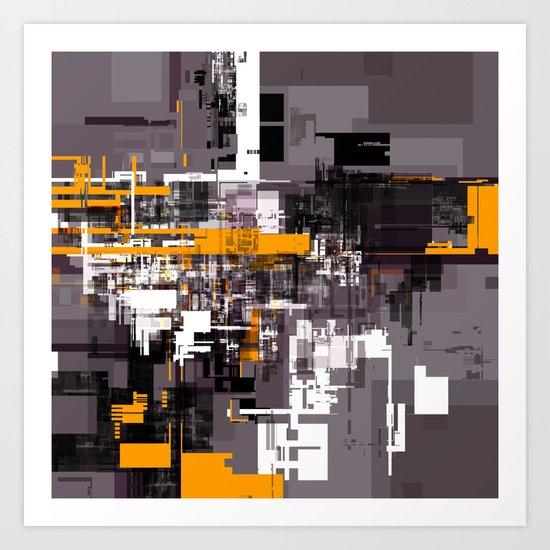 Grid Series Art Print
