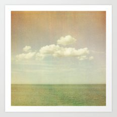 Sea of Green Art Print