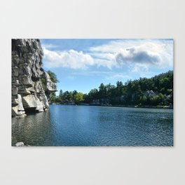 Mohonk Lake Canvas Print