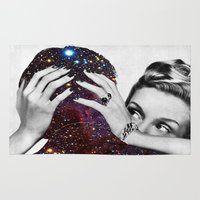 eugenia loli Area & Throw Rugs featuring Dependable Relationship by Eugenia Loli