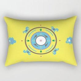ETHNO PONIES Rectangular Pillow