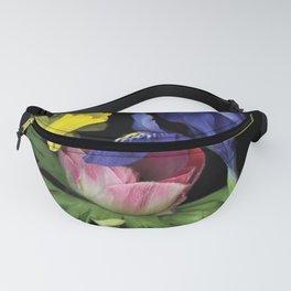 Flower - Iris Mini Fanny Pack