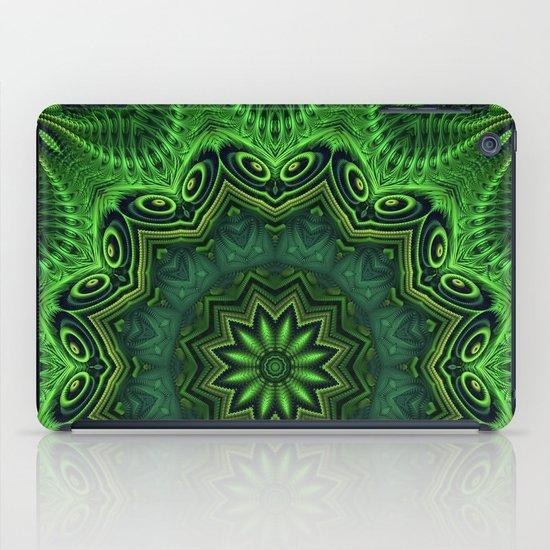 Harmony in Green iPad Case