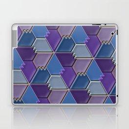 Blues & Purples Laptop & iPad Skin