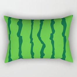 Crispy watermelon peel Rectangular Pillow