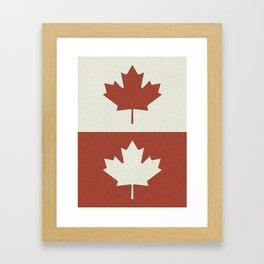 canada 5 Framed Art Print