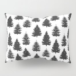 pine trees Pillow Sham