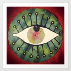 occhio yap 02 Art Print