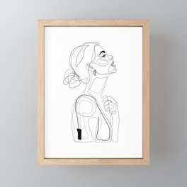 B Color Beauty Framed Mini Art Print