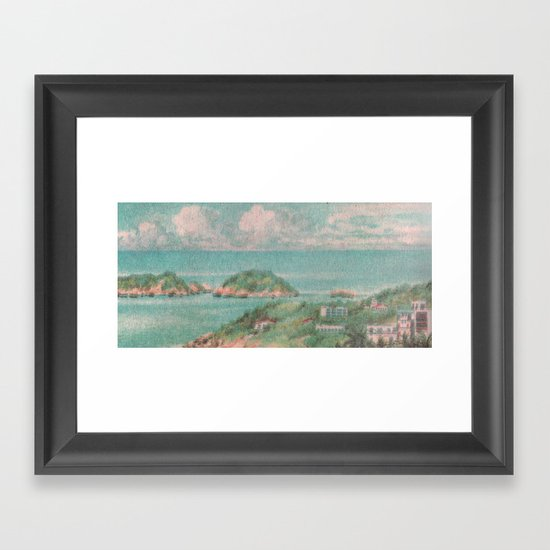 Castaways Framed Art Print
