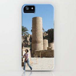 Temple of Luxor, no. 28 iPhone Case