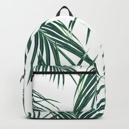 Green Palm Leaves Dream #2 #tropical #decor #art #society6 Backpack