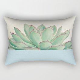 Succulent Dip III Rectangular Pillow