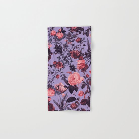 Romantic Floral Pattern Hand & Bath Towel