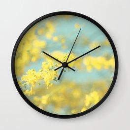 Sunny Blooms 2 Wall Clock