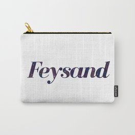 Feysand galaxy design white Carry-All Pouch