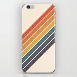 Arida -  70s Summer Style Retro Stripes iPhone Skin