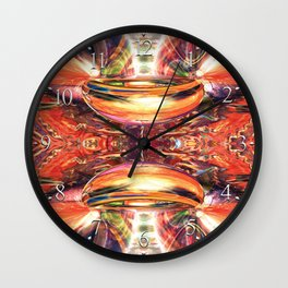 Space Glamour Wall Clock